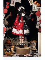 Cherry Mousse Doll Lolita Dress OP Full Set by In Paradisum